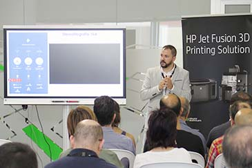 Road show HP 3D Alicante
