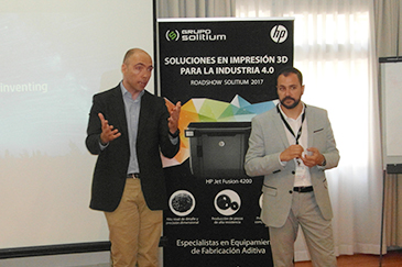 Road show HP 3D Sevilla